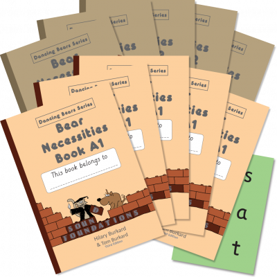 Bear Necessities Book Set 5 Pack by Hilary Burkard & Tom Burkard, Sound Foundations