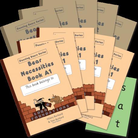 Bear Necessities Book Set 5 Pack by Hilary Burkard & Tom Burkard, Sound Foundations