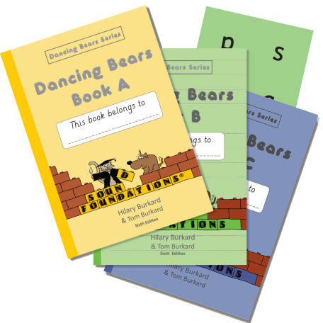 Dancing Bears Book Set by Hilary Burkard & Tom Burkard, Sound Foundations