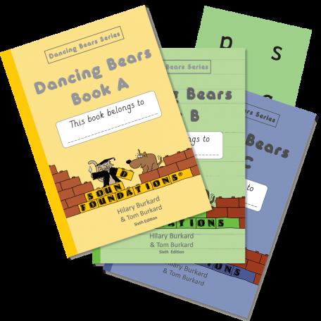 Dancing Bears Book Set by Hilary Burkard & Tom Burkard, Sound Foundations