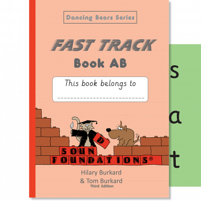 Fast Track Book AB by Hilary Burkard & Tom Burkard, Sound Foundations