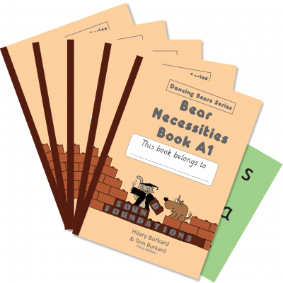 Bear Necessities Book A1 5-Pack