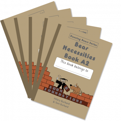 Bear Necessities Book A2 5-Pack