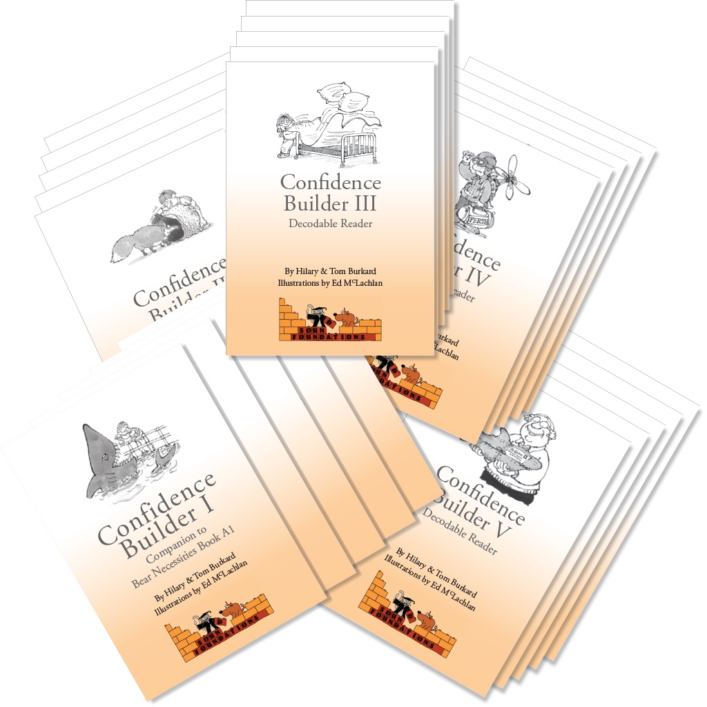 Confidence Builders 5-Pack by Hilary Burkard & Tom Burkard, Sound Foundations