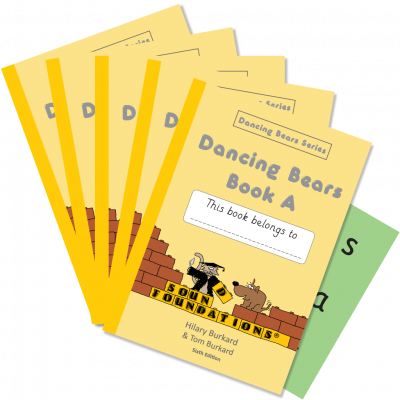 Dancing Bears Book A 5-Pack by Hilary Burkard & Tom Burkard, Sound Foundations