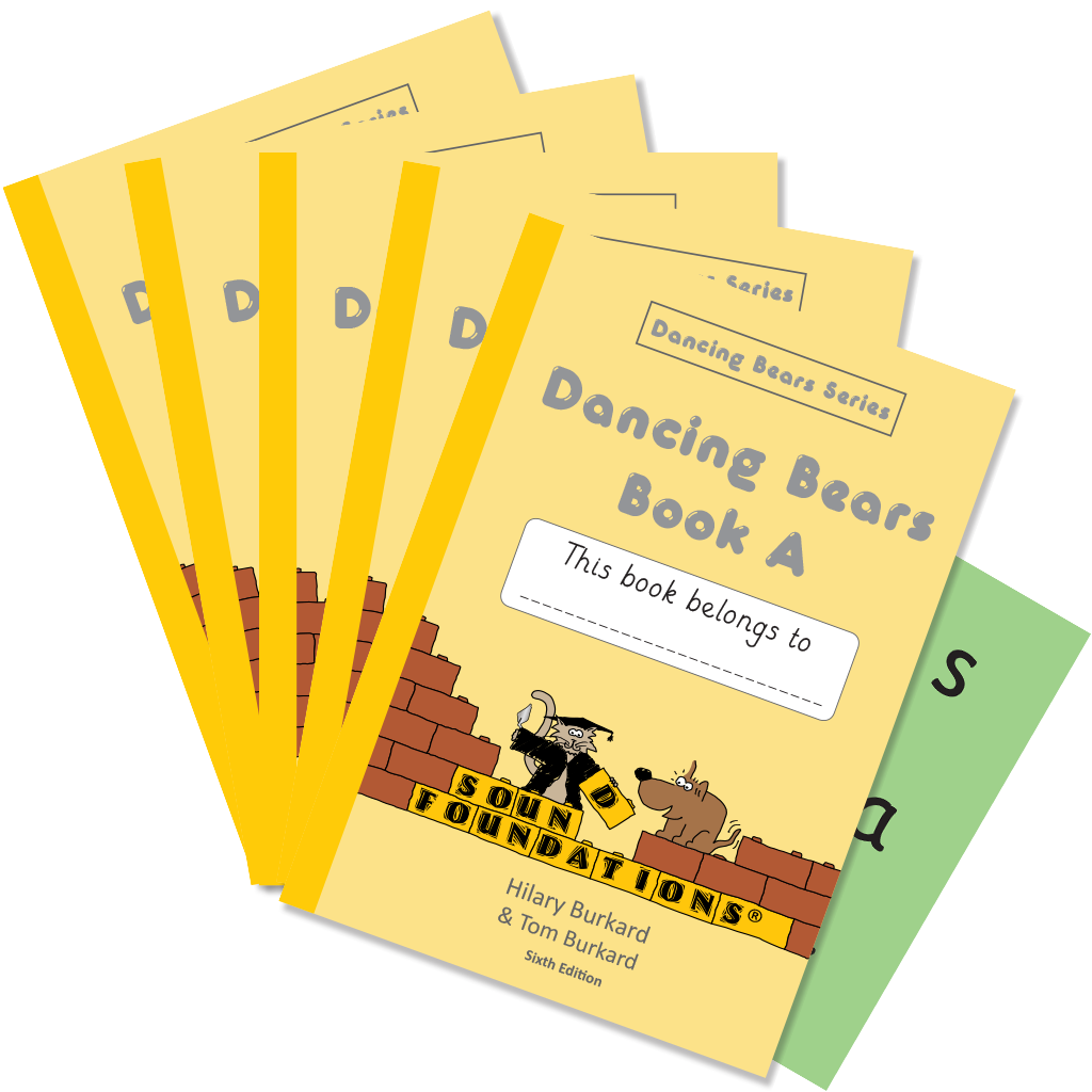 Dancing Bears Book A 5-Pack by Hilary Burkard & Tom Burkard, Sound Foundations