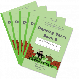 Dancing Bears Book B 5-Pack by Hilary Burkard & Tom Burkard, Sound Foundations