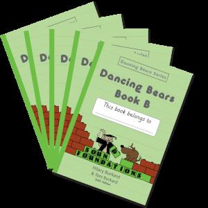 Dancing Bears Book B 5-Pack by Hilary Burkard & Tom Burkard, Sound Foundations