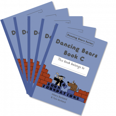 Dancing Bears Book C5-Pack by Hilary Burkard & Tom Burkard, Sound Foundations