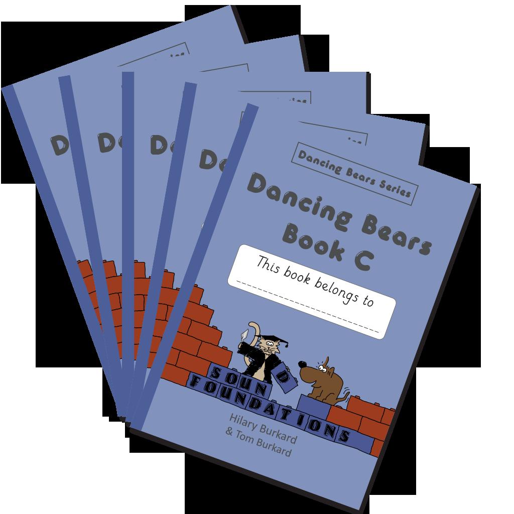 Dancing Bears Book C5-Pack by Hilary Burkard & Tom Burkard, Sound Foundations