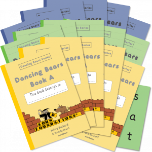Dancing Bears Book Set 5-Pack by Hilary Burkard & Tom Burkard, Sound Foundations