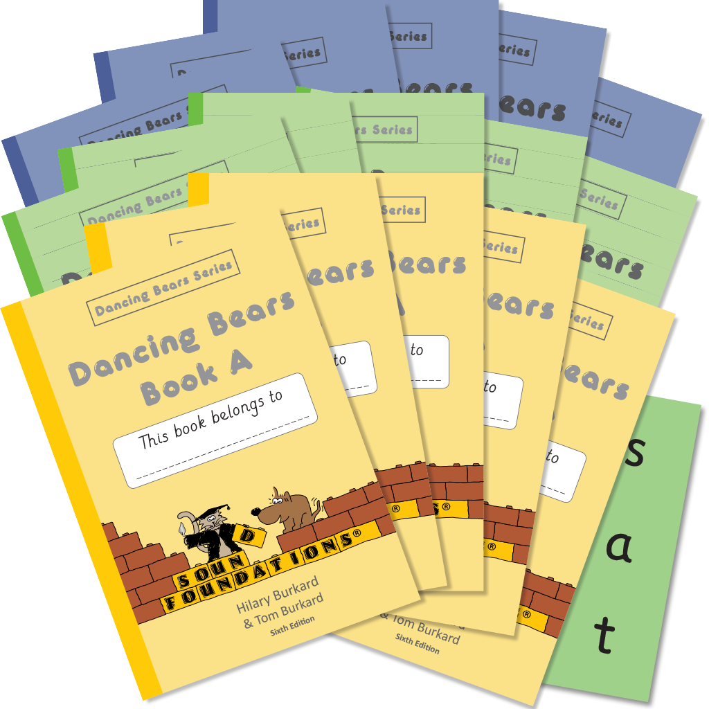 Dancing Bears Book Set 5-Pack by Hilary Burkard & Tom Burkard, Sound Foundations