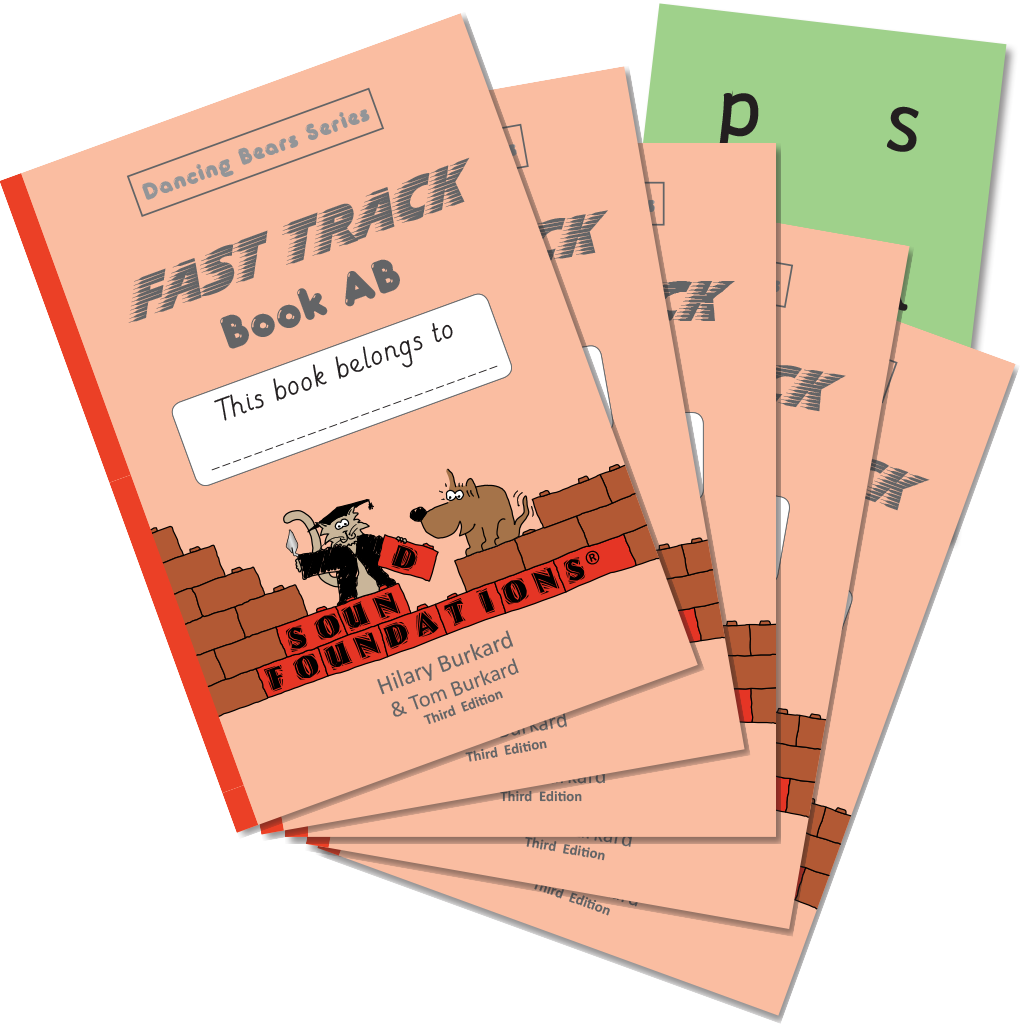 Fast Track Book AB 5-Pack by Hilary Burkard & Tom Burkard, Sound Foundations