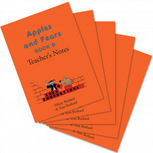 Apples & Pears Teacher's Notes D 5-Pack