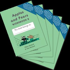 Apples & Pears Workbook B 5-Pack