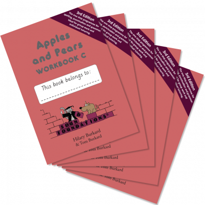 Apples & Pears Workbook C 5-Pack