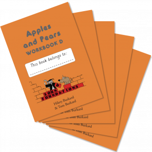 Apples & Pears Workbook D 5-Pack