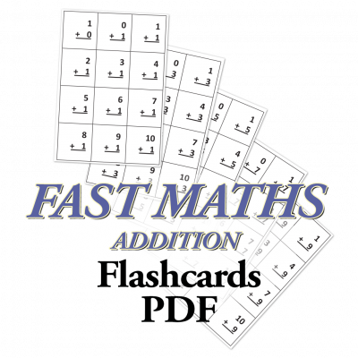 Fast Maths, Addition Flashcards