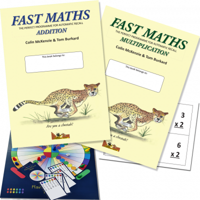 Fast Maths, Addition & Multiplication Set