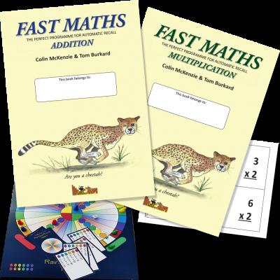 Fast Maths, Addition & Multiplication Set