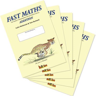 Fast Maths, Addition 5-Pack