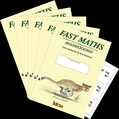 Fast Maths, Multiplication 5-pack