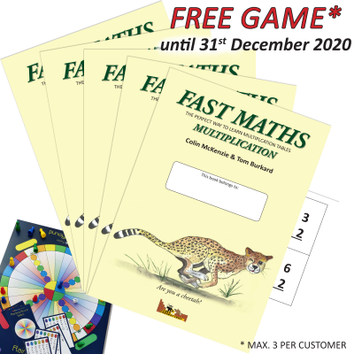 Fast Maths, Multiplication 5-Pack