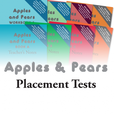 Apples & Pears Placement Tests